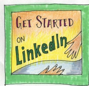 LinkedIn cartoon
